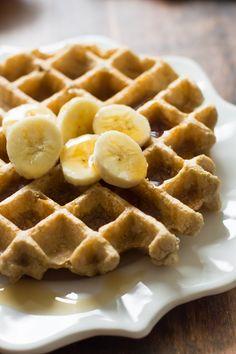 peanut butter waffles #glutenfree #getinmyface