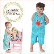 Reversible Romper for Boys and Girls - via @Craftsy