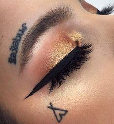 pinterest: @ nandeezy † #maquillajeojos