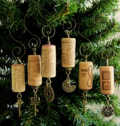 Steampunk Holiday Ornaments Set of 6 by PleasantPresents on Etsy, $20.00