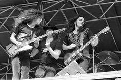 Allen Collins, Ronnie Van Zant & Gary Rossington   Lynyrd Skynyrd
