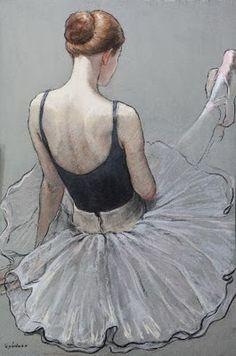 Katya Gridneva - Pinturas al Pastel Ballet Painting, Ballet Art, Ballet Dancers, Painting & Drawing, Ballet Drawings, Dancing Drawings, Ballerina Kunst, Portraits Pastel, Painting People