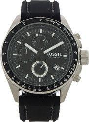 Fossil - CH2573P Decker Chronograph Black Silicone Watch