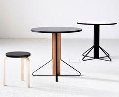 Collection Kaari par Ronan et Erwan Bouroullec pour Artek - Mobilier design table, bureau, étagère bois et métal pour la marque finlandais Artek