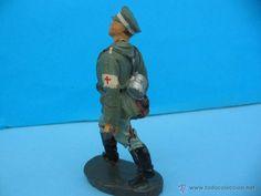 Juguetes Antiguos: Massesoldaten. Antiguo soldadito sanitario. De Elastolin. - Foto 2 - 54920468