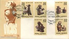 Perú 1970 Fdc Cultura Vicus