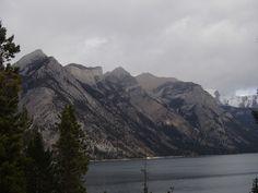 Palliser Range, Lake Minnewanka Banff, Mountains, Nature, Travel, Naturaleza, Viajes, Traveling, Natural, Tourism