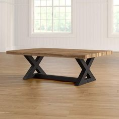 Similar Finds: Traditional Furniture & Classic Designs Coffee Table Wayfair, Cool Coffee Tables, Small Living Rooms, Living Room Modern, Dinning Room Tables, Farmhouse Table, Modern Farmhouse, Traditional Furniture, Metal Furniture