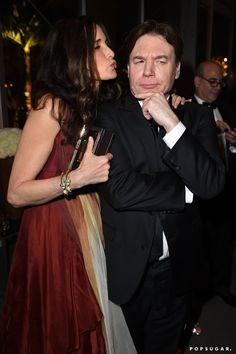 Pin for Later: Die 55 besten Bilder der Oscars 2015 Andie MacDowell und Mike Myers