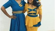 Top shweshwe dresses with apron summer is a aeon you abrasion ablaze colours. You can abrasion in on your nails, bags, shoes etc. African Fashion Dresses, African Dress, Shweshwe Dresses, Black Women Art, Trendy Fashion, Apron, Two Piece Skirt Set, Traditional, Skirts