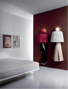 модель Tabard wall от фабрики Pallucco Italia, дизайн Santachiara Denis.