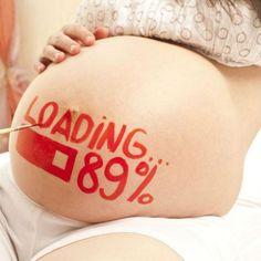 Uma das fases mais apaixonantes da minha vida foi a gravidez de Catarina. Eu adorava ver o crescimento da barriga - engraçado que, como ela cresce um pouqu