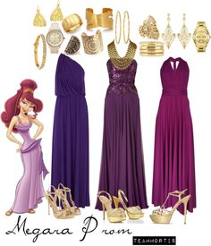 """""""Megara Prom Ideas"""" by teammortis ❤ liked on Polyvore"""
