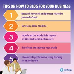 Starting a blog for your business? Or maybe you're just writing an article? Here are several tips to make your content pop.