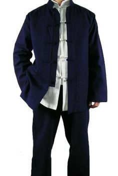 Amazon.com: Fine Linen Blue Kung Fu Martial Arts Tai Chi Uniform Suit XS-XL or Tailor Custom Made: Clothing