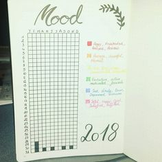 #moodtracker #bulletjournal #bujo #bulletjournalfrench #bujofrench #bujo2018 #calligraphie #calligraphy #typography #calendrier #calendar #leuchtturm #leuchtturm1917 #fabercastell #frenchgirl #french #rennes #bzh #mood #pixels #yearinpixels