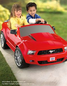 Power Wheels® Ford Mustang: Drive, in real style!