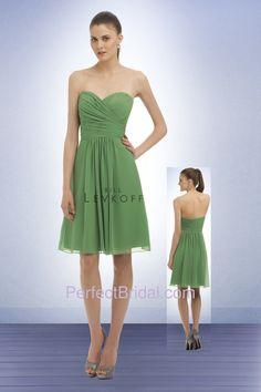 Green Bridesmaid Dress @Ashlee Outsen Outsen Burzo I like this color too!