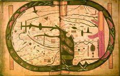 Mappa di San Severo, ispirata al Beatus, 1030