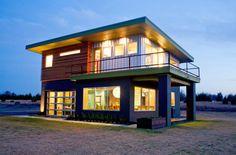 Case construite din garaje