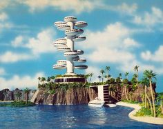 Jacque Fresco designs for The Venus Project