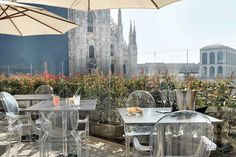 10 most beautiful rooftop bars in Milan