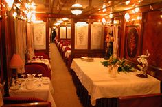 Al-Andalus train in spain - The Lounges