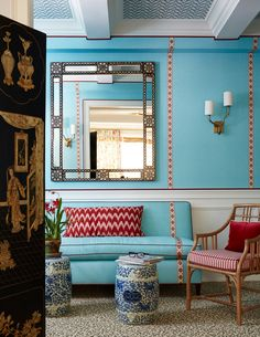 A colorful New York City apartment by Mark D. Sikes