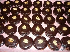 Mini ořechové dortíčky