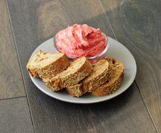 Valentine Hummus - Beets and Garlic - Vegan Family Recipes