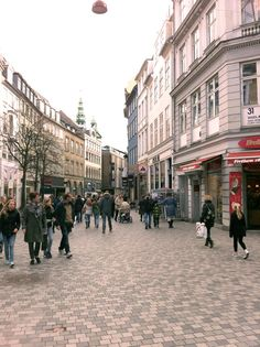 Købmagergade, shoppingstreet
