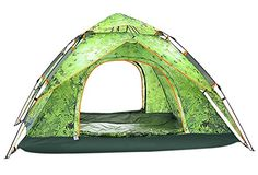 ChezMax Outdoor 34 People Popup Family camping tentAll Weather Family Tent for IndoorOutdoor Use Forest Green *** Be sure to check out this awesome product.