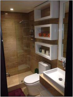 42 Super Creative DIY Bathroom Storage Projects to Organize Your Bathroom on a Budget - The Trending House Bathroom Design Luxury, Bathroom Design Small, Bathroom Layout, Bathroom Storage, Bathroom Ideas, Bathroom Organization, Small Bathroom Interior, Bathroom Cleaning, Washroom