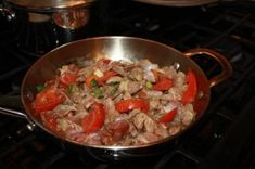 Spicy Carribean Chicken Gizzards and Livers