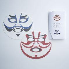 歌舞伎フェイスパック  Kabuki beauty pack
