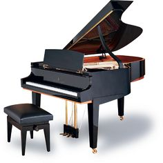 Steinway & Sons Limited Edition Tricentennial grand piano. Can I have one of this in, like, red and black mixed? That's gonna be one hot-looking piano, I think.