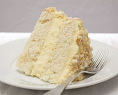 Lemon Cream Cake is fit for a fancy party or just a weekend treat, and is as delicious as it is pretty.  Text And Photo By Sara Schewe