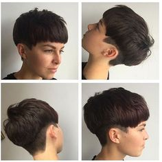 #TB undercut.. Short pixie style with a sharp undercut @rcnq #rcnq #manchester…