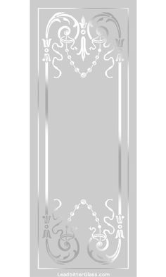 All of our Victorian and Traditional etched glass designs can be used with any border so the images below can be used to create your [...]