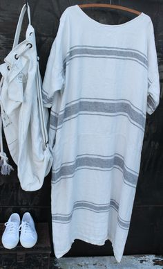 Linen Maxi Dress MegbyDesign