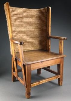 Child's Orkney Chair, Late 19th / Early 20th C.