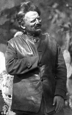 Image result for trotsky in leather