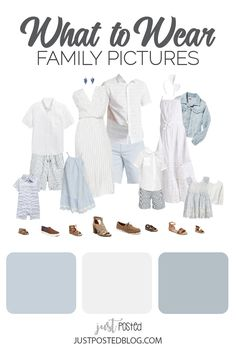 Ideas for What to Wear for Easter and Spring Family Photos Family Pictures What To Wear, Summer Family Pictures, Summer Family Photos, Family Pics, Family Posing, Family Photography Outfits, Family Portrait Outfits, Clothing Photography, Family Portraits