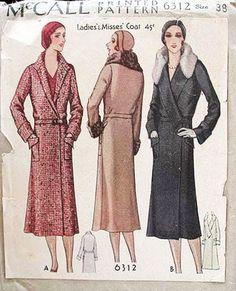 mccall coat 6312 |