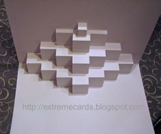 Cupcake Cake Pop Up Card cakepins.com