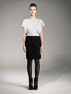 Hook skirt and top by Carla Rodriguez.