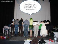 Canal Osera con el Big Culo Day y la Compañía Igüoc Show