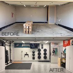 A home gym is a great way to save money. Take a look at the top small basement home gym ideas as well as small workout room ideas for your home. Home Gym Basement, Home Gym Garage, Diy Home Gym, Home Gym Decor, Gym Room At Home, Workout Room Home, Garage House, Workout Rooms, Dream Home Gym