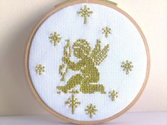 Hand Embroidery hoop embroidery tapestry cross stitch by SiBoArt