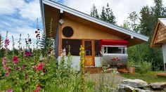 Tin Poppy Glamping 7 Places, Glamping, Vacation, House Styles, Cabins, Poppy, Outdoor Decor, Tin, Summer